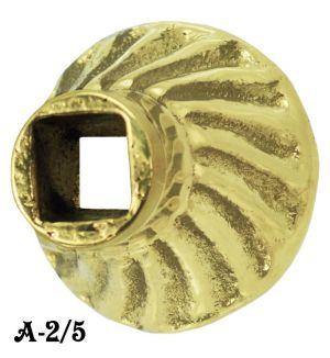 "Recreated Victorian Brass Washer Or Mounting Spacer Only 1"" Diameter (A-2/5)"