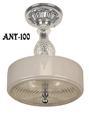 Antique Art Deco Ceiling Light (ANT-100)