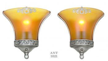 Pair of American Art Deco Sconces (ANT-1021)