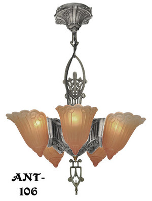 Antique-Original-Lincoln-5-Light-Chandelier-(ANT-106)