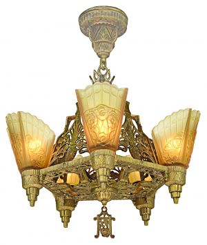 Art Deco Top-of-the-Line Chandelier (ANT-1167)