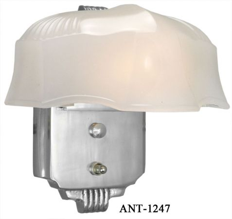 Art Deco Streamline Wall Sconce Light Fixture (ANT-1247)