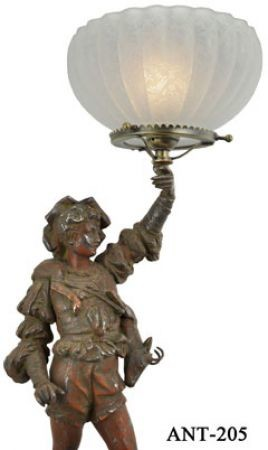 Victorian-Figural-Lamp-(ANT-205)