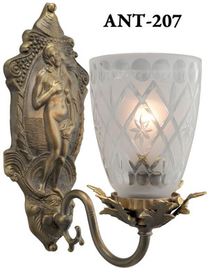 Antique-Victorian-Venus-Sconces-(ANT-207)