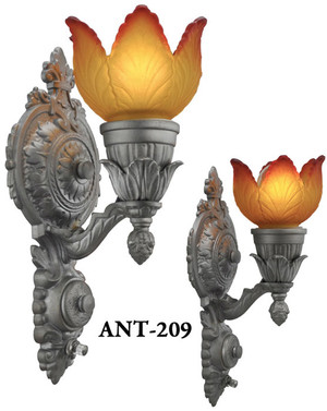 Pair of Turn of the Century Antique Sconces (ANT-209)