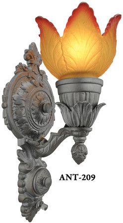 Pair-of-Turn-of-the-Century-Antique-Sconces-(ANT-209)