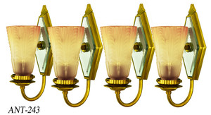 Set of Four Turn of the Century Sconces (ANT-243)