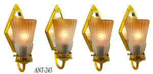Set-of-Four-Turn-of-the-Century-Sconces-(ANT-243)