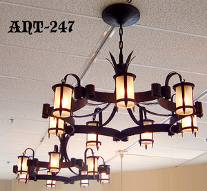 Pair of Restored Antique Chandeliers C1920 (ANT-247)