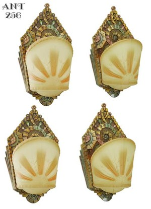 Set of FOUR Williamson/Beardslee Sconces (ANT-256)
