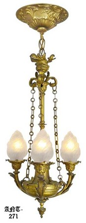 Circa 1920s French Neo-Rococo Chandelier ( ANT-271)