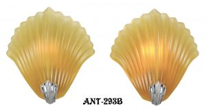 French Shell Motif Sconces (ANT-293)