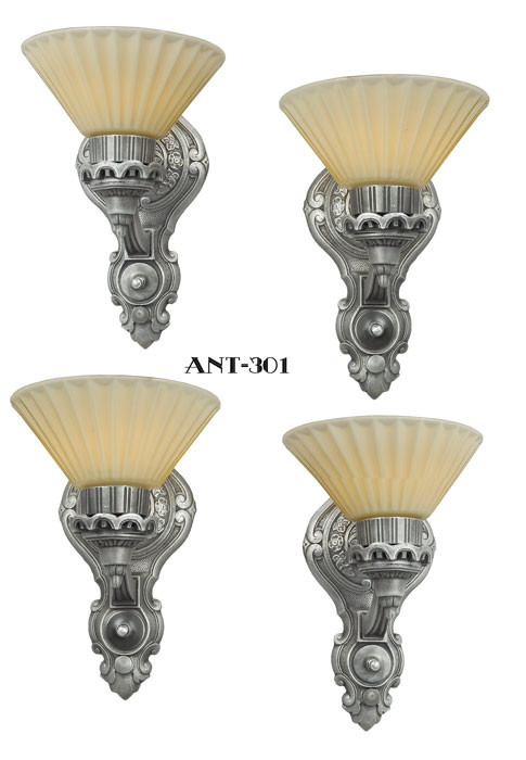 Vintage Hardware Amp Lighting Art Deco Style Antique Wall