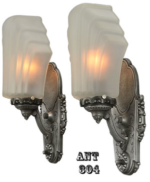 American-Art-Deco-Signed-Sconces-(ANT-304)