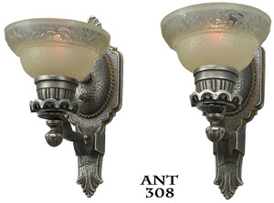 Art-Deco-Pair-of-Wall-Sconces-(ANT-308)