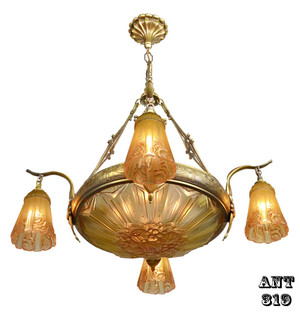 Art-Deco-French-Chandelier-(ANT-319)