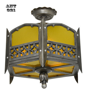 Gothic-or-Arts-and-Crafts-Style-Low-Ceiling-Light-(ANT-321)