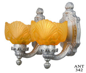 Restored Antique Set of Circa 1920s Wall Sconces (ANT-342)