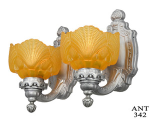 Restored-Antique-Set-of-Circa-1920s-Wall-Sconces-(ANT-342)