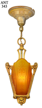Art-Deco-Slip-Shade-Pendant-by-Moe-Bridges-(ANT-343)
