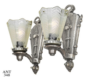 Art-Deco-with-Gothic-Motif-Mixed-Design-Sconces-(ANT-348)