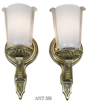 Lovely Pair of Circa 1920 Wall Sconces (ANT-355)