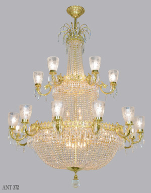 Magnificent Large Ballroom Crystal Chandelier (ANT-372)
