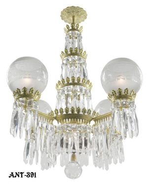 Crystal-Gasolier-Style-4-Light-Chandelier-(ANT-391)