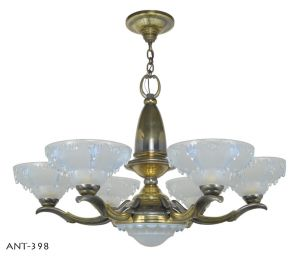 Outstanding Ezan style French Art Deco Chandelier (ANT-398)