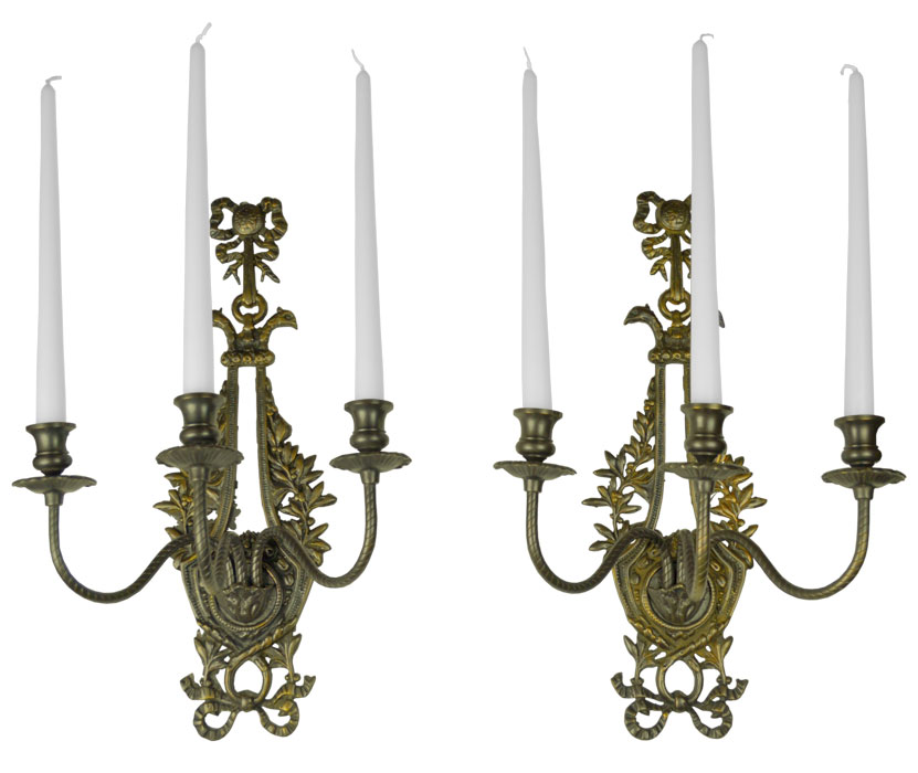 Wall Sconces Candles Holder : Vintage Hardware & Lighting