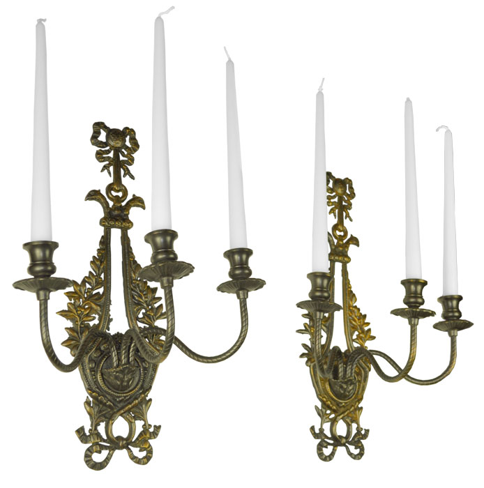 Victorian-Neo-Rococo-Pair-of-Candelabrums-Wall-Sconces-Candle-Holders-(ANT-401)