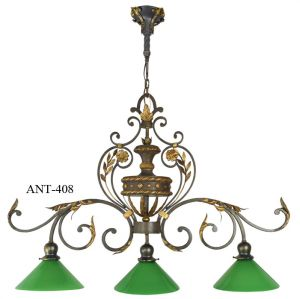 Antique Pool Table Light Fixture (ANT-408)