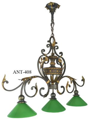 Antique-Pool-Table-Light-Fixture--(ANT-408)