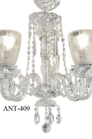 Antique-Crystal-Glass-5-Light-Chandelier-(ANT-409)