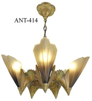 "Mid-West Mfg. Kansas City ""Soleure"" 5 Light Chandelier (ANT-414)"