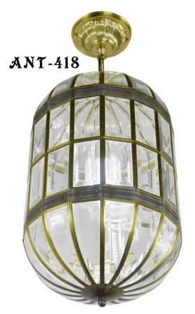 Mid-Century-Modern-Beveled-Glass-Pendant-Light-CA-Title-24-Compliant-(ANT-418)