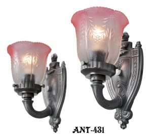 Lovely pair of Circa 1920 Wall Sconces (ANT-431)