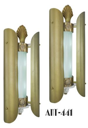 Pair of Historic Sconces from the Loew's Delancy Theater (ANT-441)