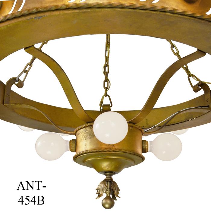 Items Similar To Lighting Rustic Chandelier Vintage 1920 S: Vintage Hardware & Lighting