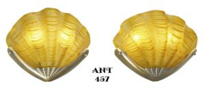 Art-Deco-Clam-Shell-Motif-Theatre-Wall-Sconces-Odeon-Movie-Theater-Lights-(ANT-457)