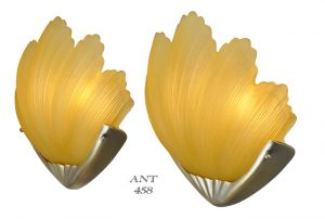 Art-Deco-Odeon-Style-British-Clam-Shell-Motif-Theatre-Sconces-(ANT-458)