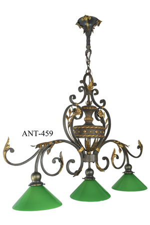 Antique-Pool-Table-Light-Fixture-(ANT-459)