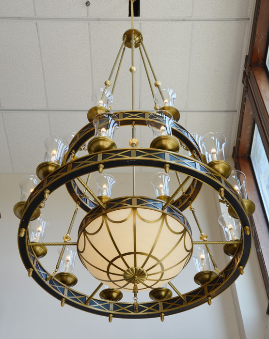 Vintage Hardware & Lighting - Marvelous Giant Chandeliers from the ...