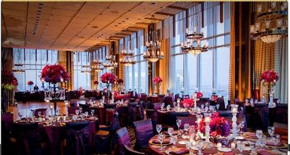 Marvelous Giant Chandeliers From The Petroleum Club