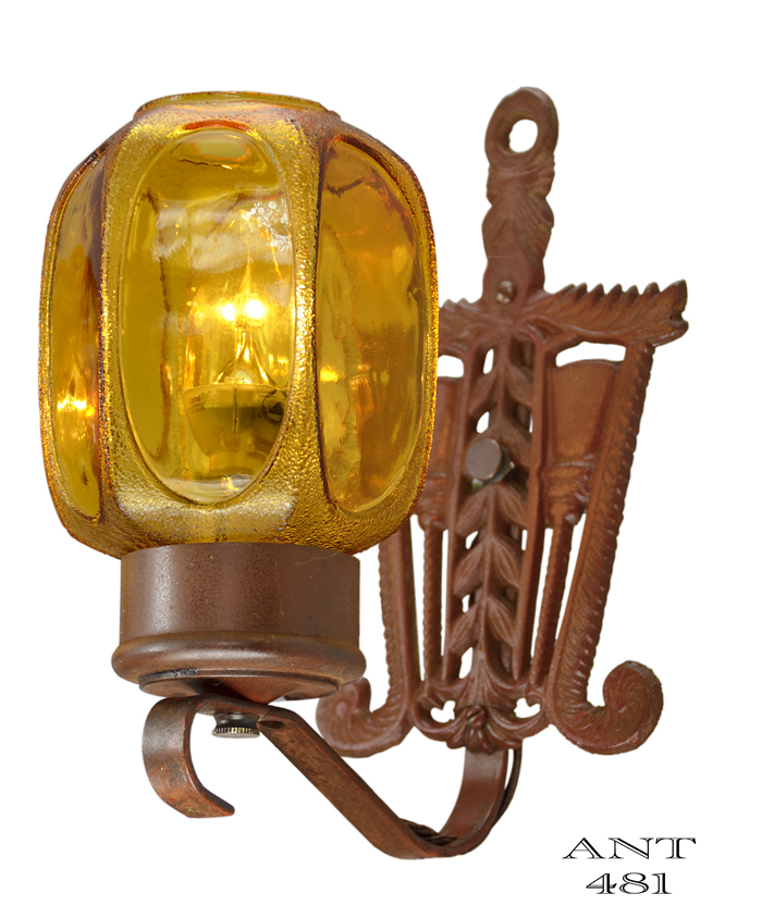 Vintage Hardware & Lighting - Art Deco or Arts and Crafts Style Pair ...
