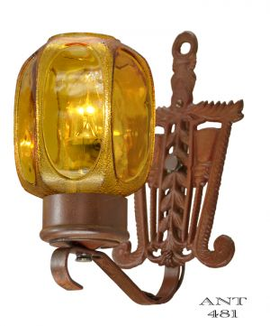Art-Deco-or-Arts-and-Crafts-Style-Pair-of-1920-Antique-Wall-Sconces-(ANT-481)