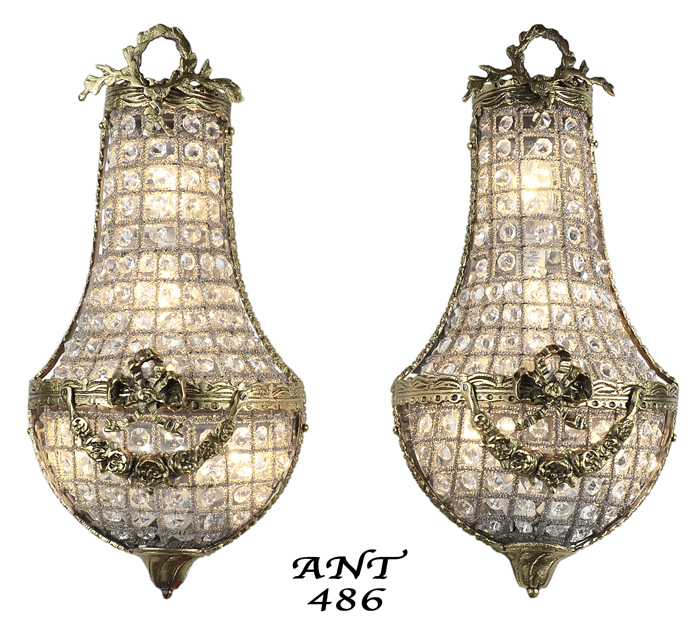 Vintage Hardware Amp Lighting Antique French Basket Style