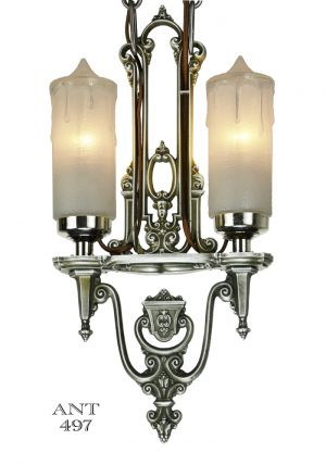 Art-Deco-Antique-Candle-Style-Ceiling-Pendant-Light-by-Riddle-(ANT-497)