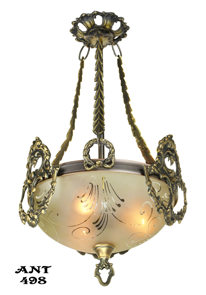 Vintage Hardware Amp Lighting Antique Edwardian Ceiling