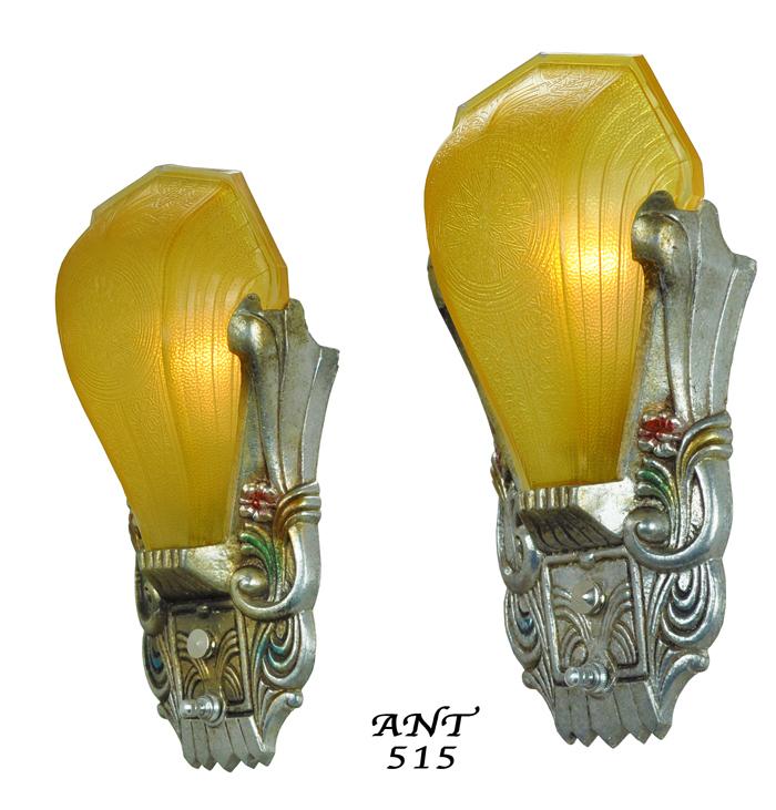 Fantastic Wall Lights Art Deco Embellishment - Art & Wall Decor ...